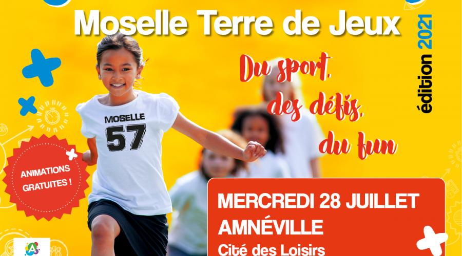 La caravane «Moselle Terre de Jeux» passera à Amnéville