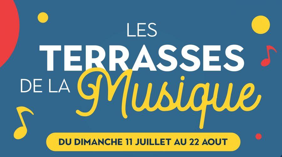 Les Terrasses de la Musique, l'évènement musical de la Cité des Loisirs
